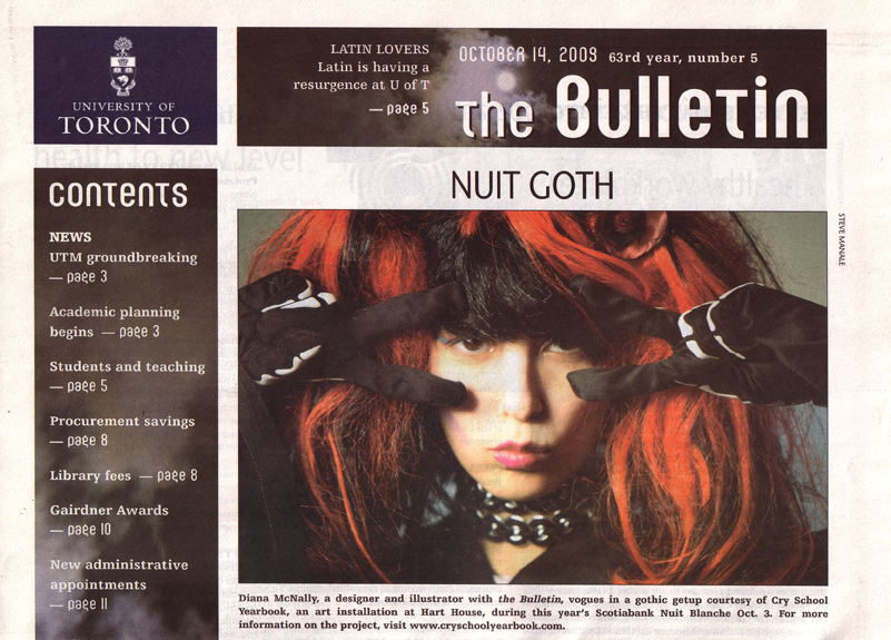 The Bulletin, Cover, October 14, 2009