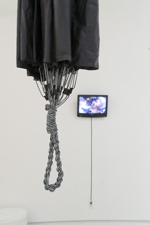 Self-Made Parachute (detail)